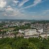Blick auf Wetzlar von der Burgruine Kalsmunt, Richtung Nord-Nordost  (Foto: Christoph Rau)