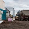 Baudokumentation EAD-Neubau im Sensfelder Weg 33, Stand am 11. November 2010