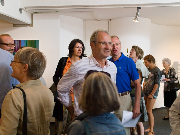 Vernissage in der Galerie Netuschil in Darmstadt am 18. August 2013