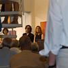Vernissage in der Galerie Netuschil in Darmstadt am 18. August 2013: Adagio, Zelenka und Klanggemälde - Malerei von Gerd Winter; Tempel, Säuleninsel und Paarstein - Klangskulpturen von Livia Kubach und Michael Kropp (Foto: Christoph Rau)