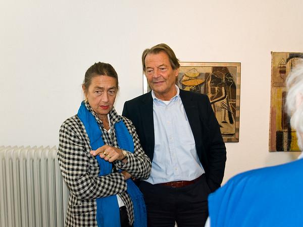 Vernissage Ernst Vogel und Hermann Tomada