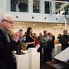 Vernissage Monumental im Kleinen - Dichter Bildraum konzentriert