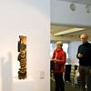 Vernissage Klaus Hack, Babel - Turm und Figur