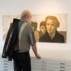 Vernissage in der Galerie Netuschil Darmstadt am 11. Oktober 2015: Kai Savelsberg - Der Boden auf dem wir stehen, Neue Bilder und Bildobjekte