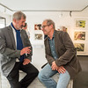 """Vernissage """"Gedrucktes Bild, Zeitgenössische Druckgraphik"""" in der Galerie Netuschil Darmstadt am 29. Mai 2016"""