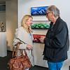 """Vernissage """"Armin Baumgarten - Dialog zwischen Urbild und Gestalt, Kopf, Figur und Landschaft, Malerei und Skulptur"""", Galerie Netuschil Darmstadt, 26. März 2017"""