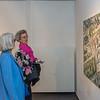 """Vernissage """"Armin Göhringer: Blockhaft und filigran - Holzskulpturen und Rudi Weiss: Stadt und Landschaft - Malerei, Galerie Netuschil Darmstadt, 24. Juni 2018 (Foto: Christoph Rau)"""