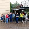 Traditioneller Frühschoppen am 2. Juli 2012 in der Heiner-Arena auf dem Karolinenplatz