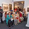 """Ausstellungseröffnung im Kunst Archiv Darmstadt: """"Geste, Abstraktion und Informel - Malerei und Skulptur in Darmstadt um 1960"""", 15. Oktober 2017"""