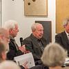 """Gesprächsrunde """"Kunst der 1960er Jahre"""" im Kunst Archiv Darmstadt mit Franz Armin Morat, Claus K. Netuschil, Bernd Krimmel und Manfred Großkinsky, 22. Februar 2018"""