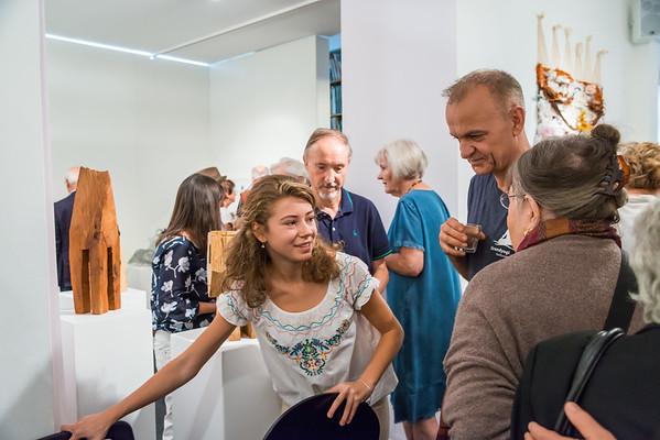 """Ausstellungseröffnung im Kunst Archiv Darmstadt: """"Material – Sprache der Kunst"""", 9. September 2018"""