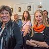 """Ausstellungseröffnung Kunst Archiv Darmstadt: """"Gertrud und Alfred Arndt. Zwei Bauhaus-Künstler in Darmstadt"""", 20. Januar 2019 (Foto: Christoph Rau)"""