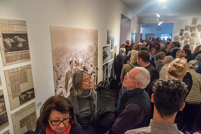 """Ausstellungseröffnung Kunst Archiv Darmstadt: """"Bauhaus-Archiv Darmstadt 1960 bis 1970 - Bilanz und weltweite Wirkung"""" am 14. April 2019 (Foto: Christoph Rau)"""