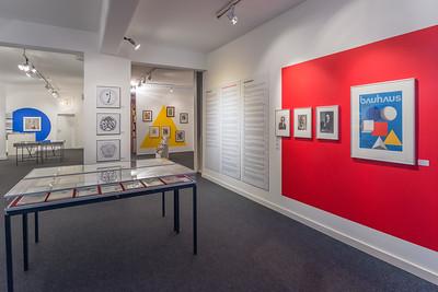"""Ausstellung im Kunst Archiv Darmstadt: """"Bauhaus-Archiv Darmstadt 1960 bis 1970 - Bilanz und weltweite Wirkung"""" (Foto: Christoph Rau)"""