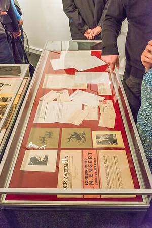 """Ausstellungseröffnung Kunst Archiv Darmstadt: """"Ernst Moritz Engert und die Darmstädter Sezession"""" am Sonntag, 8. September 2019 (Foto: Christoph Rau)"""