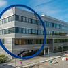 Neubau Chemie- und Biotechnologie der Hochschule Darmstadt (CuB), Außenaufnahme von Nordosten (Foto: Christoph Rau)