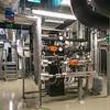 Neubau Chemie- und Biotechnologie der Hochschule Darmstadt (CuB), Blick in Technikraum (Foto: Christoph Rau)