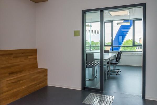 Neubau Chemie- und Biotechnologie der Hochschule Darmstadt (CuB), Büro (Foto: Christoph Rau)