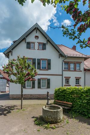 Alte Schule Hergershausen, Rodgaustraße 16, 64832 Babenhausen (Foto: Christoph Rau)