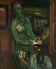 Grüne Frau, 1949, Öl