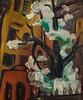 Zerstörung, 1949, Öl