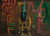 Abstrakte Komposition, 1949, Öl