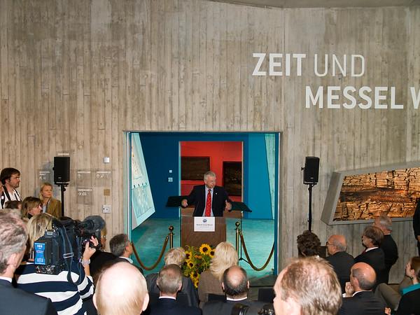 Weltnaturerbe Grube Messel, Besucher-Informationszentrum