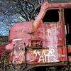 Udrangerede  lokomotiver i forfald, Århus <br /> <br /> © Foto: Jens Hasse/Chili<br /> Dato: 12.03.04<br /> Chili foto & arkiv