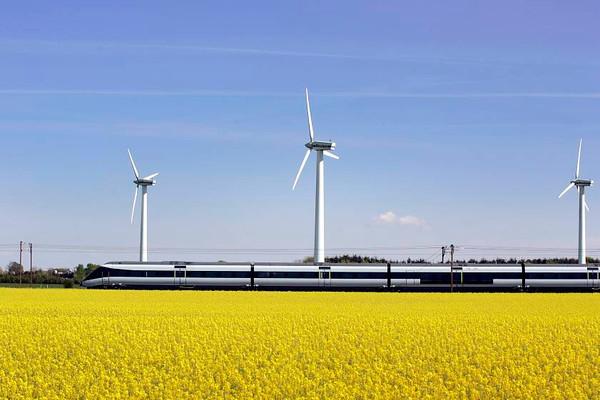 Testkørsel af IC4 togsæt 07 i Sønderjylland<br /> <br /> © Foto: Jens Hasse/Chili<br /> Dato: 30.04.07<br /> Chili foto & arkiv