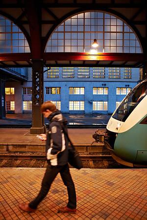 Ny belysning ude og inde på Aarhus H<br /> 11.1.2014<br /> © Foto: Søren Holm/Chili<br /> Dato: <br /> Chili foto & arkiv
