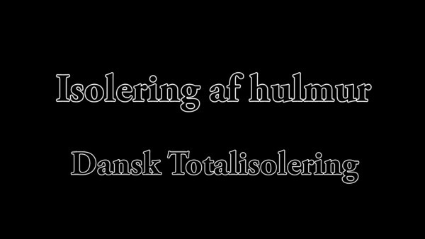 Dansk Totalisolering version 1