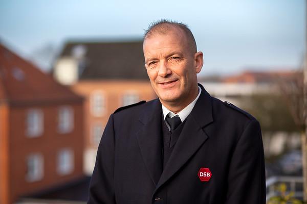 Peter Mørch Kjob, togfører, Randers, 3.1.2019