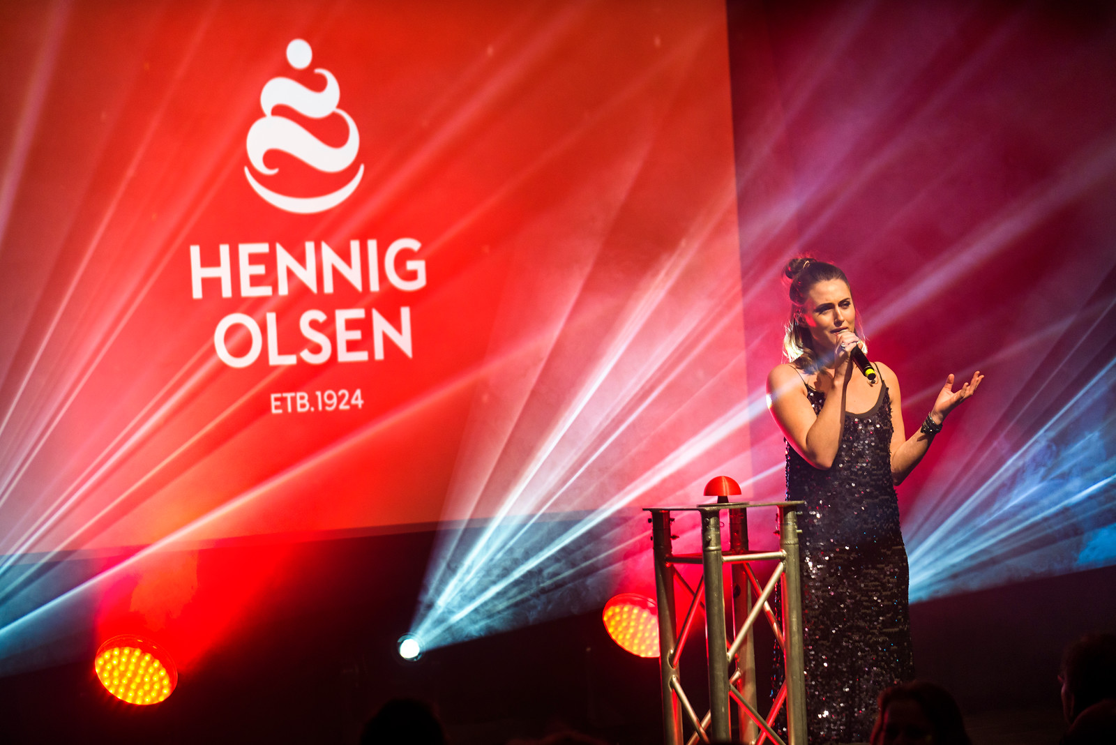 Årsfesten 2017 Hennig Olsen Is på Kick