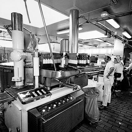 Frabrikken midten av 1960-årene