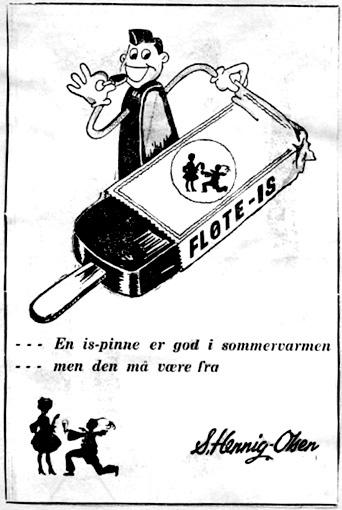 Avisannonse 1930-årene