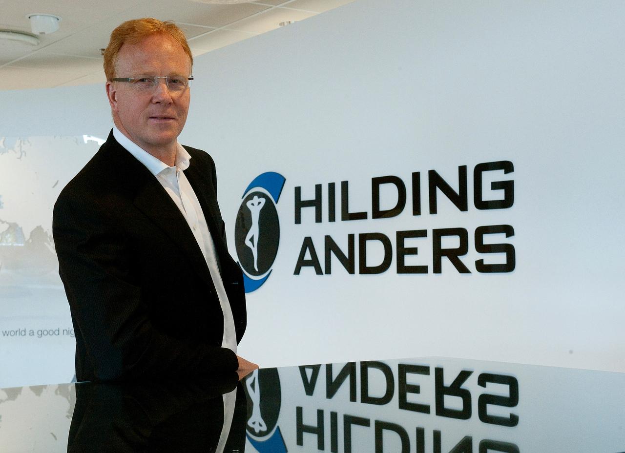 Gunnar Johansson, ny VD  Hilding Anders