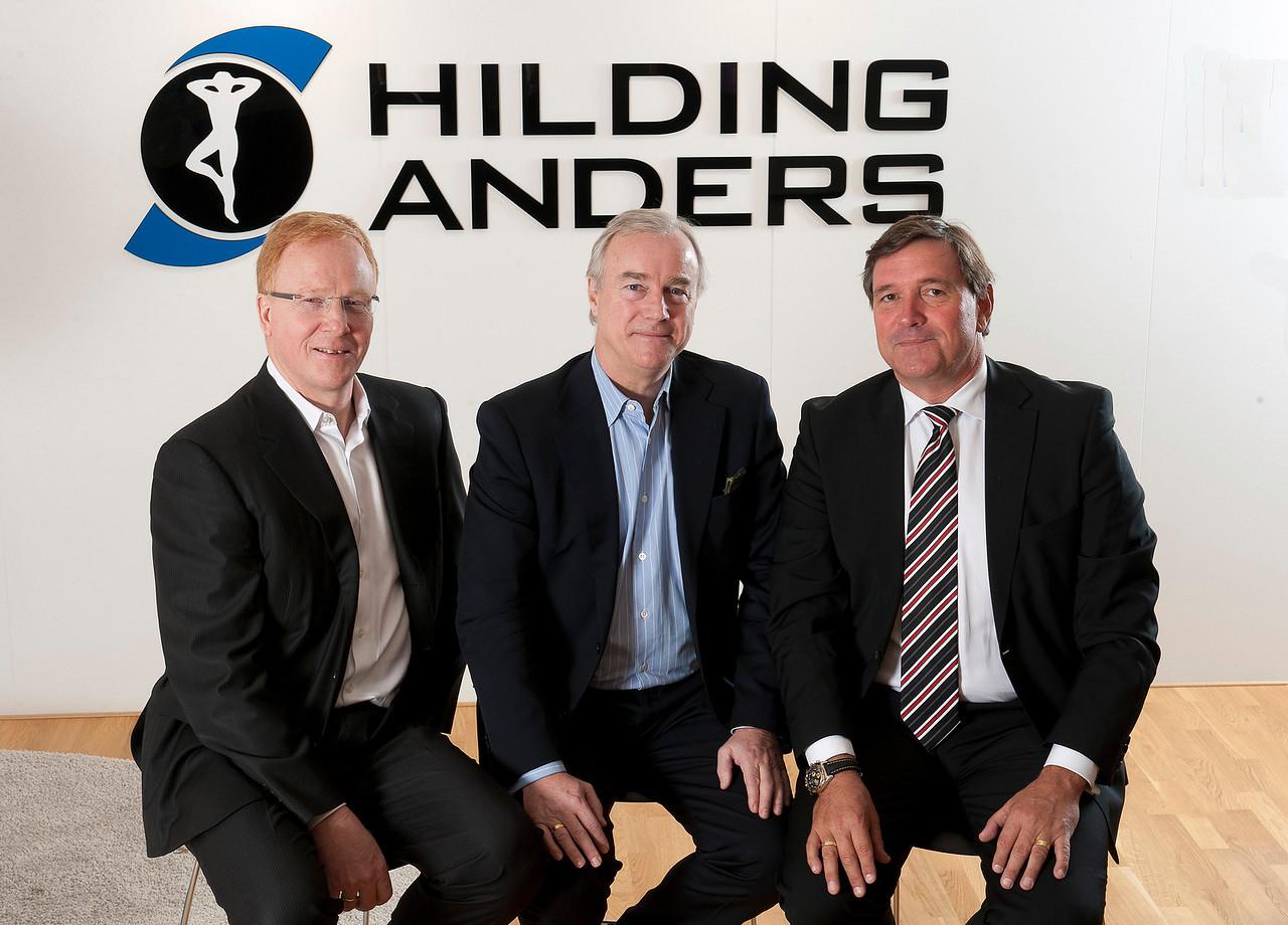 Gunnar Johansson, Fredrik Arp och Anders Pettersson
