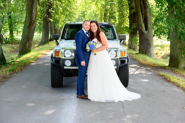 Bröllopsfoto Gabriella och Cristofer