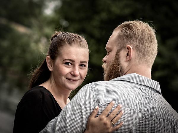 Parfoto Jessica och Christoffer