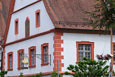 """Das ehemalige Hotel """"Schwanen"""" in Haigerloch."""