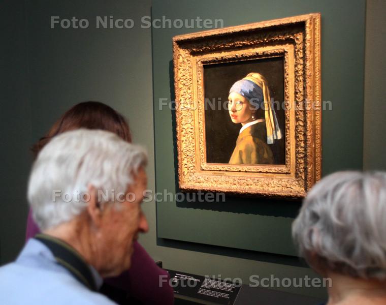 Expositie Mauritshuis in het Gemeentemuseum - DEN HAAG 27 APRIL 2012 - FOTO NICO SCHOUTEN