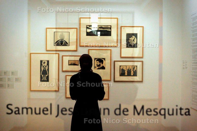 AD/HC - TENTOONSTELLING SAMUEL JESURRUN DE MESQUITA, GEMEENTEMUSEUM - DEN HAAG 9 DECEMBER 2005 - FOTO NICO SCHOUTEN