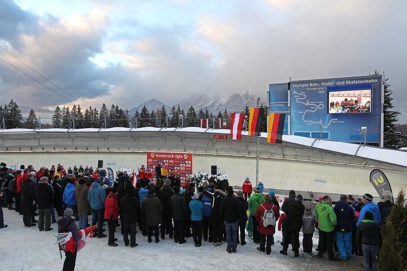 Rodel, Luge World Cup Innsbruck-Igls 2015