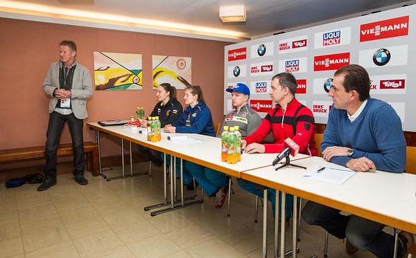 Pressekonferenz WM-Auftakt