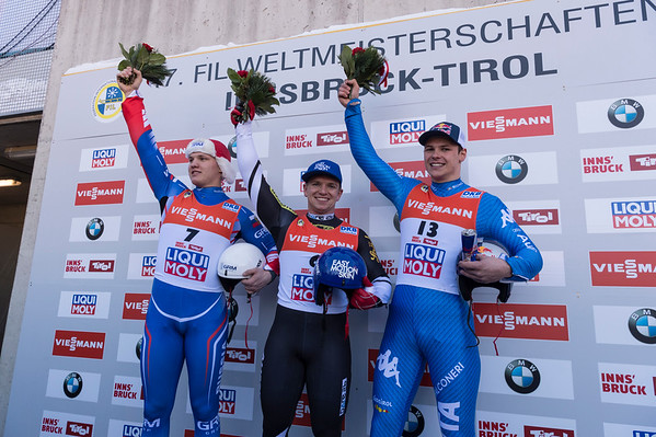 Rennrodel WM Innsbruck 2017