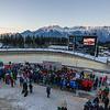 Fotograf: kristen-images.com / Michael Kristen // 29.01.2017 / Bobbahn Innsbruck-Igls / Rodeln / FIL Rennrodel WM 2017 / Rodel Austria / Kunstbahn / Bild: Siegerehrung / Preisverleihung