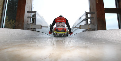 Training & Photoshooting Igls Artificial Ice Track Luge Rodelaustria