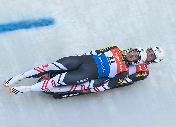 Doppelsitzer Viessmann Rennrodelweltcup 18-11-2017
