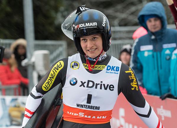 Viessmann Rennrodel Weltcup Winterberg/GER Sprintbewerb
