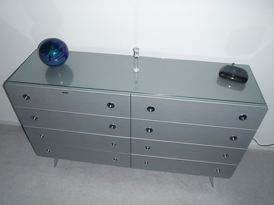 Glass top purchased for the GBR dresser